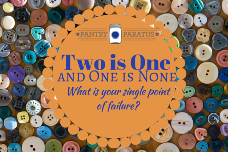 Two is One and One is None: What is Your Single Point of Failure?