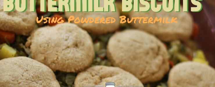 Biscuits made from Frontier Powdered Buttermilk