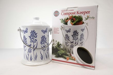 1 Gallon Ceramic Compost Keepers