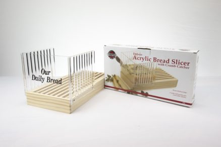 Bread Slicer with Crumb Catcher
