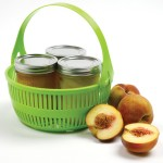 Canning basket for water bath canning