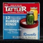 Gaskets (rubber rings) for Tattler Regular