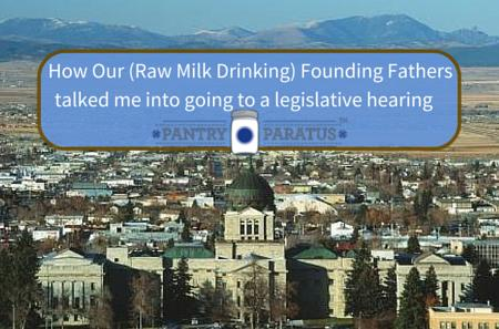 How Our Raw Milk Drinking Founding Fathers