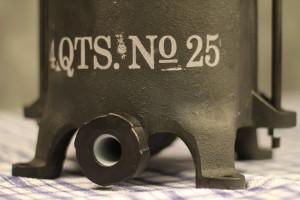 Sausage Press Spout Holder