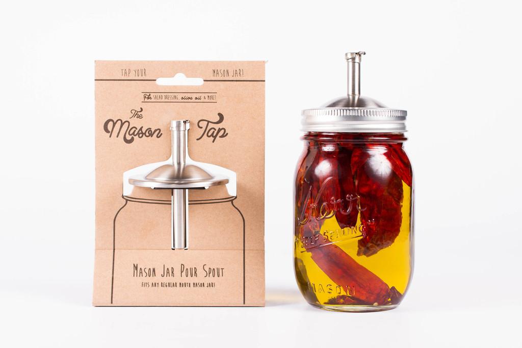 The Mason Tap Mason Jar Pour Spout