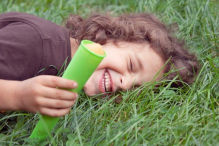 ice pop laughter