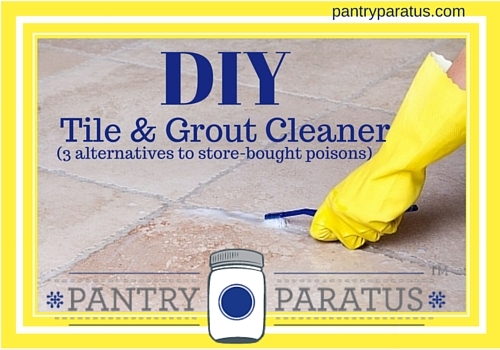 Diy Tile Grout Cleaner