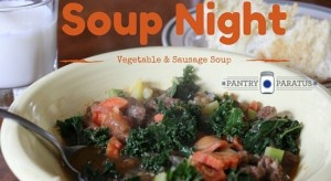 Soup Night: Your Food Storage pops with flavor in this recipe