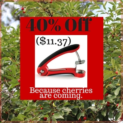 40% off cherry pitter