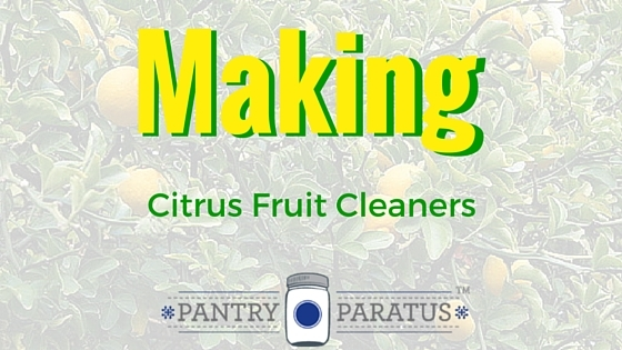 Making Citrus Fruit Cleaners
