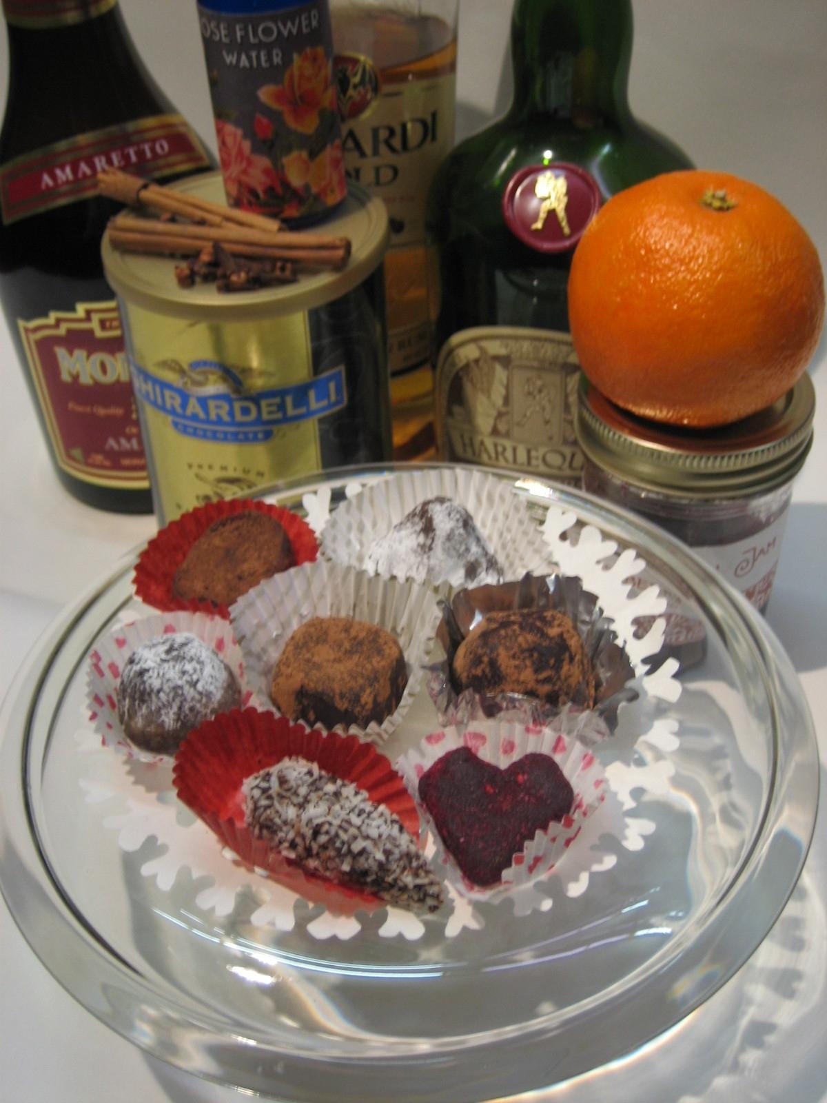 Gourmet Truffles Recipe Trifold