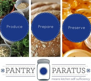 produce prepare preserve with Pantry Paratus