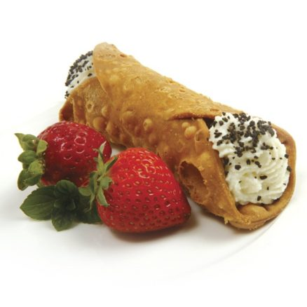 cannoli and strawberries