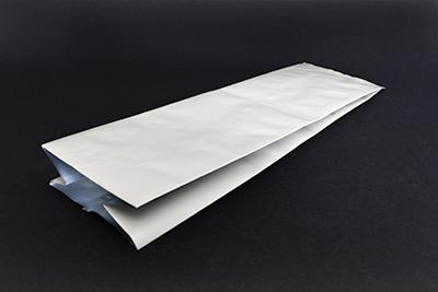 Food Storage Gusset Pouch Matte Grey 5.5x3.625