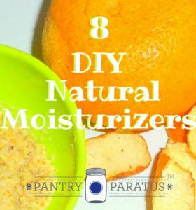 8 DIY Natural Moisturizers