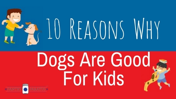 10 Reasons Why Dogs are Good for Kids