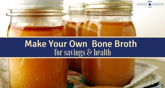Make Your Own Bone Broth
