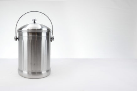Stainless Steel Compost Keeper, 1 Gallon