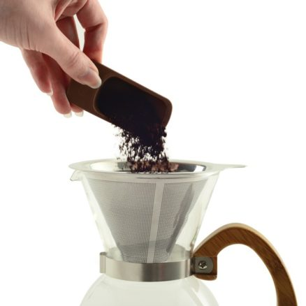 pouring-coffee-grinds