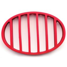 silicone roast rack trivet top