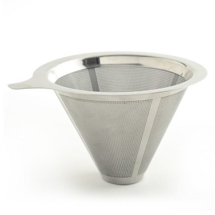 stainless steel filter with the pour over coffee maker