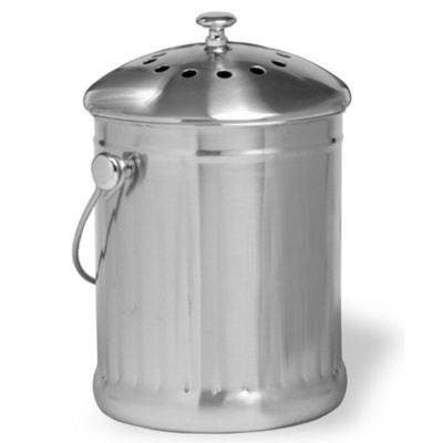 1 gallon stainless steel compost keeper