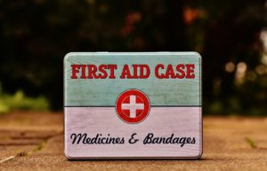 first aid and medicine for short-term emergencies