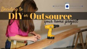 Deciding your home project