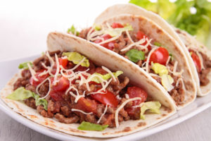 beef taco using home canned ground beef
