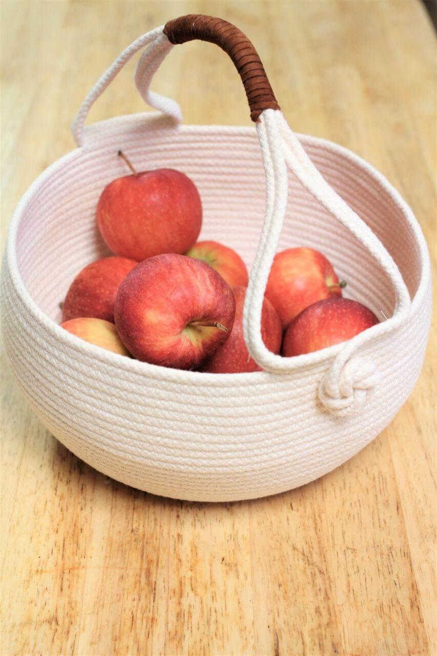 Handcrafted Harvest Basket