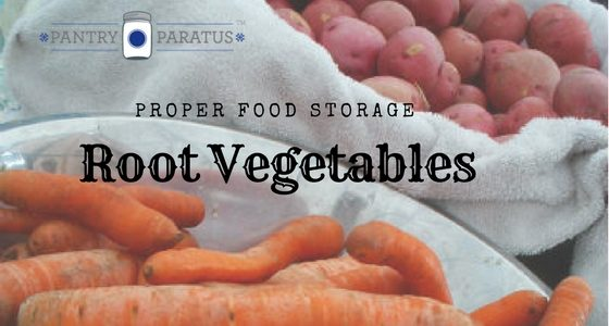 Proper Food Storage for Root Vegetables